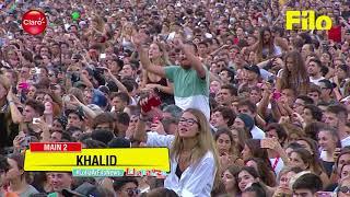 Khalid - Young Dumb & Broke (Live At Lollapalooza Argentina 2018)