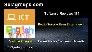 Software Reviews 114 Roxio Secure Burn Enterprise 4