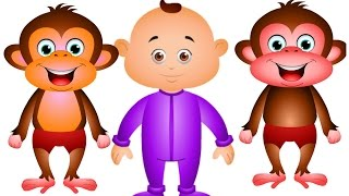 Five Little Monkeys Jumping On The Bed And Many More - Nursery Rhymes Collection Vol 2 - Jamjammies