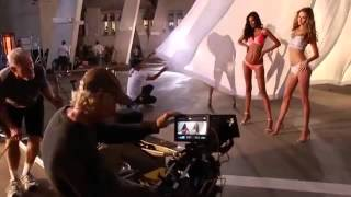 Behind the Scenes of the Body by Victoria Secret's: Lily Aldridge, Adriana Lima, Alessandra Ambrosi