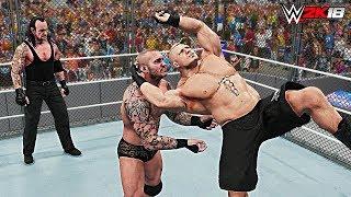 WWE 2K18 Top 10 Stolen Finisher Beatdowns! Part 5