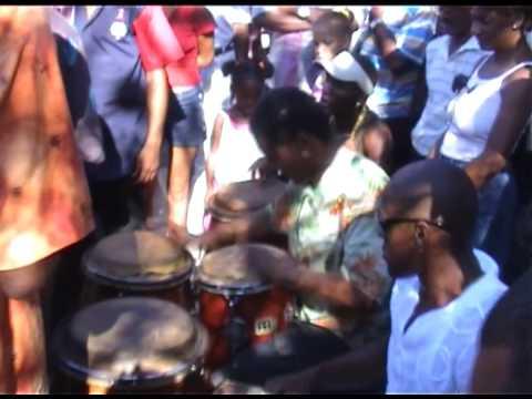 Rumba en la calle 1 Santiago de Cuba