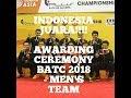 Download Video MERINDING! AWARDING CEREMONY BADMINTON ASIA CHAMPIONSHIP 2018 - MEN'S TEAM 3GP MP4 FLV