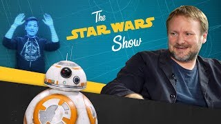 The Last Jedi Director Talks With the Director of Hamilton, Making BB-8 Sounds, and More!