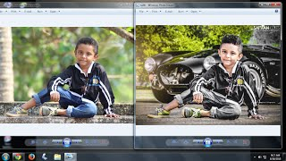 Photoshop photo editing