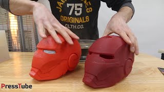 Casting Color Changing Iron Man Helmet