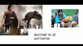 Copycat bahubali characters