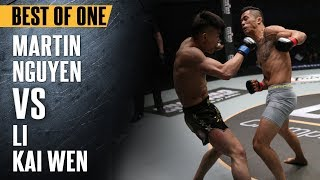 ONE: Best Fights | Martin Nguyen vs. Li Kai Wen | Face-off Between Two Highly Aggressive Athletes