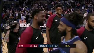 Miami Heat vs Memphis Grizzlies | December 14, 2018