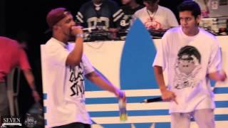 Jota (Trujillo) vs Sosa - Octavos - Pura Calle 2015 Batallas Freestyle