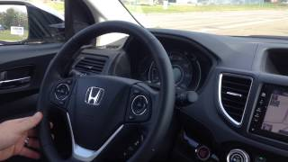 2015 Honda CR-V Lane Keeping Assist System
