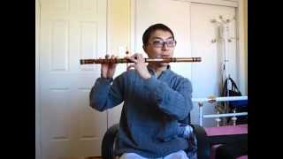 Naruto Main Theme on Bamboo Flute - BETTER