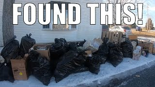 WHY WOULD SOMEONE THROW THIS IN THE TRASH?! - Trash Picking Ep. 118