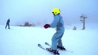 Terzo giorno con gli sci ai piedi - Ultima lezione di sci di Anja