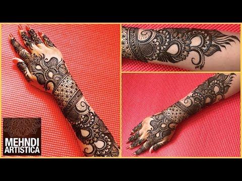 Xxx Mp4 New Designer Mehndi Design For Bride Haathphool Mehendi Designs For Hands Full Design Part 2 3gp Sex