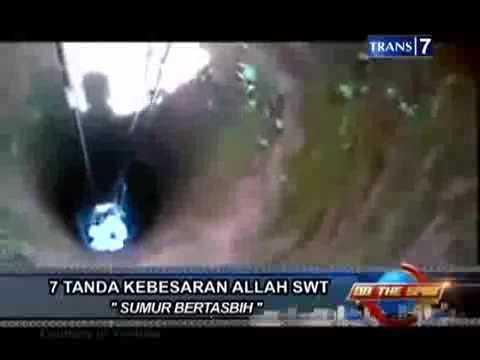 On The Spot Pintu Menuju Kerajaan Nyi Roro Kidul Di Indonesia Sumur Bertasbih
