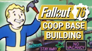 FALLOUT 76: Coop Building CONFIRMED and Public Workshops in Fallout 76!! (NEW Building Info)