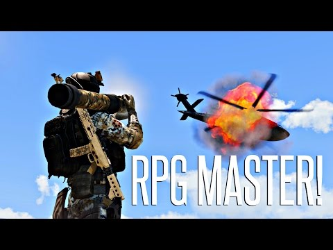 RPG MASTER! - ArmA 3 King Of The Hill