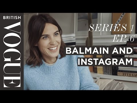 Xxx Mp4 Alexa Chung On Social Media At Balmain With Rousteing S1 E6 Future Of Fashion British Vogue 3gp Sex