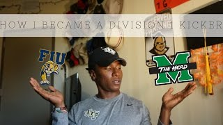 HOW I BECAME A D-1 FOOTBALL PLAYER