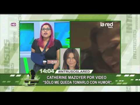 El video hot que complica a Catherine Mazoyer