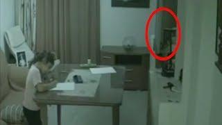 5 مقاطع رصدتها آلات تصوير أمنية لأشباح مخيفة..!!