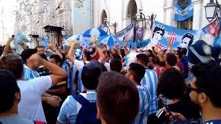 World cup. Football fans. Argentina. June 15