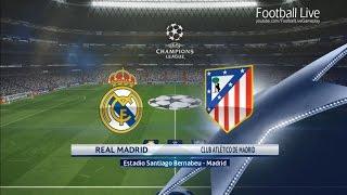 PES 2017 | UEFA Champions League | Real Madrid vs Atletico Madrid | Gameplay PC