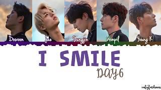 day6 i smile lyrics color coded_han_rom_eng