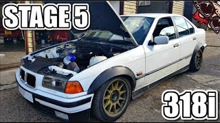 🐒 4 CYLINDERS BETTER THAN 6? BMW E36 318i SURPRISE!!