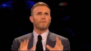 Gary Barlow gets sworn at on X Factor