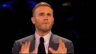 Gary Barlow gets sworn at on X Factor