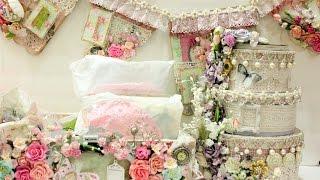 Beautiful ShabbyChic swap  projects for Rina Mayers   Vintage   Victorian Romance