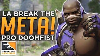 Overwatch: LA Gladiators BREAK The META! - Pro Doomfist & Mei Comp!