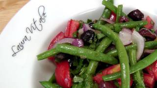 Green Bean Salad - Recipe by Laura Vitale - Laura in the Kitchen Episode 156