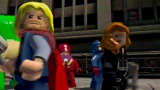 LEGO Marvel Vengadores - Tráiler Open World - Español HD