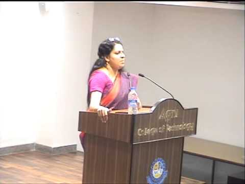 EL-30 Series: Talk by Ms. Bharathi Baskar, Vice president, CITI Bank(part 1)