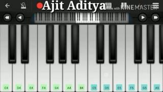 BAARISH – HALF GIRLFRIEND   Mobile perfect piano tutorial