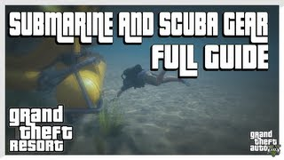 GTA 5 - How to Get the Submarine and Scuba Gear FULL GUIDE (Grand Theft Auto 5 Secrets)