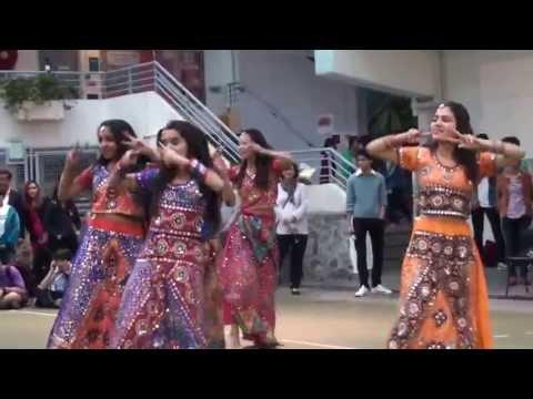 Indian Bollywood Dance on Radha, Chikni chameli, desi girl and hooka bar in Hong Kong