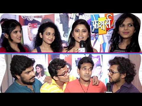 Freshers In CANDID Mode | Zee Yuva Marathi Serial | Mitali Mayekar, Onkar Raut