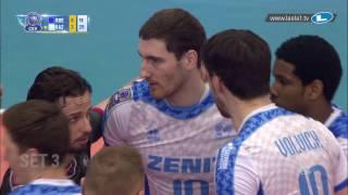 CLVolleyM - Playoff 12 Leg 1 - Highlights - Knack ROESELARE vs Zenit KAZAN