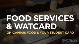 Food Services & Watcard
