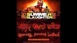 2019 'Summer Slaughter Tour' leaks.. Cattle Decap/Carnifex/Faceless and more..