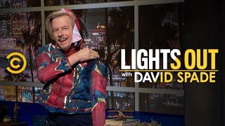 Spider-Man Does a Late-Night Monologue (Sort Of) - Lights Out with David Spade