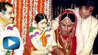 UNSEEN Marriage Pictures Of Bollywood Celebrities