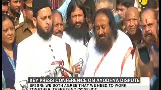Key press conference on Ayodhya dispute