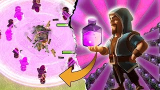 WIZARD SUPER POWER!?!🔸HAPPY EASTER SAVING!!!🔸Clash Of Clans
