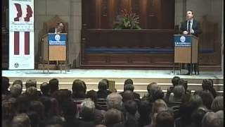 Atheist vs. Christian One of the best debates Christopher Hitchens v Peter Hitchens