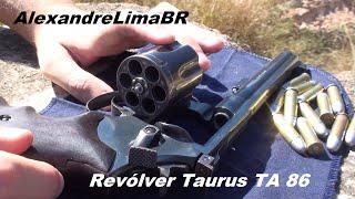 Revólver Taurus TA 86 em .38 SPL